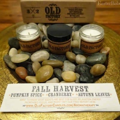 Old Factory Candle Gift Set + Giveaway