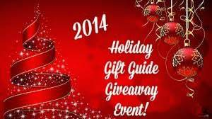 Holiday Gift Guide Giveaway Event 2014