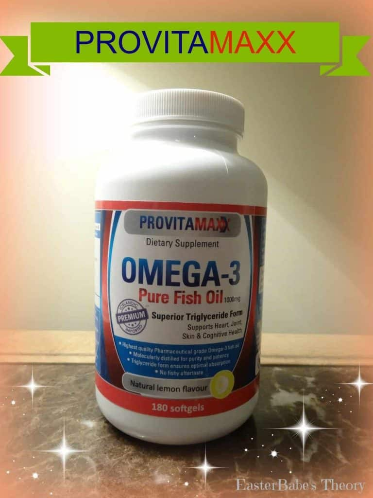 Provitamaxx omega 3 fish oil giveaway easter babe 39 s theory for What are the benefits of fish oil