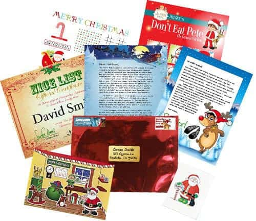 Santa Claus Writes Deluxe Letter Package
