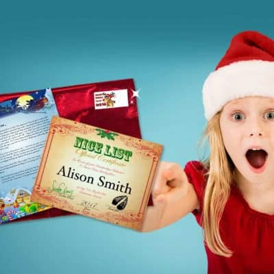 Personalized Letter from Santa Claus Writes