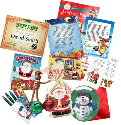 Santa Claus Writes Ultra Deluxe Letter Package