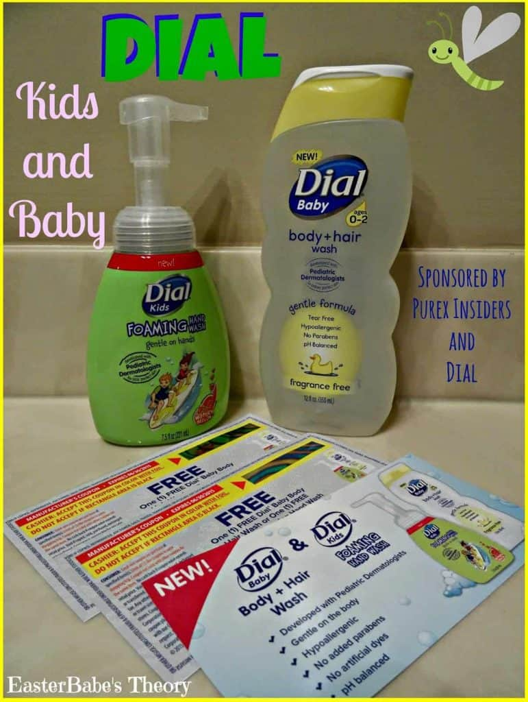 Dial Kids Hand Soap and Baby Body & Hair Wash Giveaway
