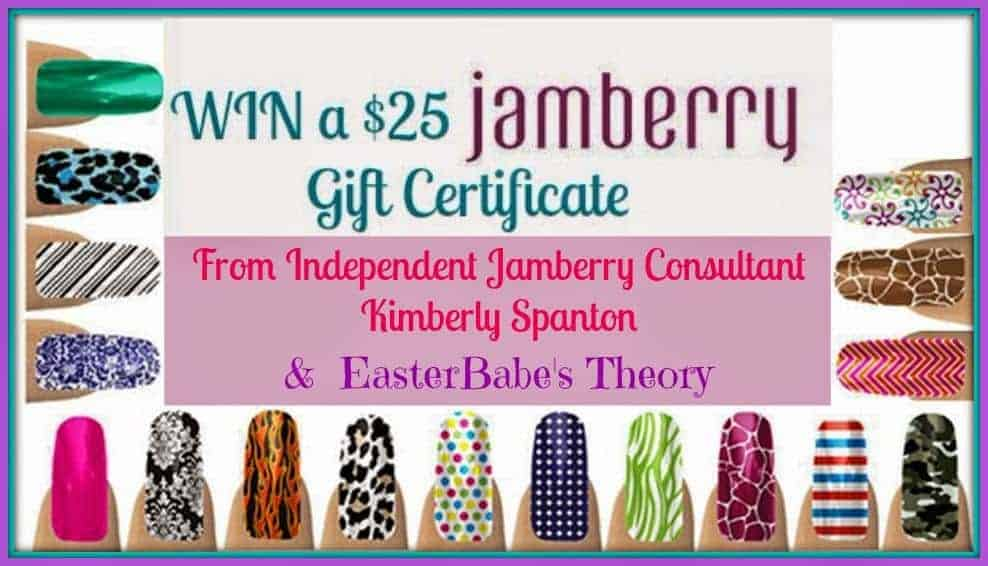 Jamberry Nails with Kimberly Spanton Review + Giveaway