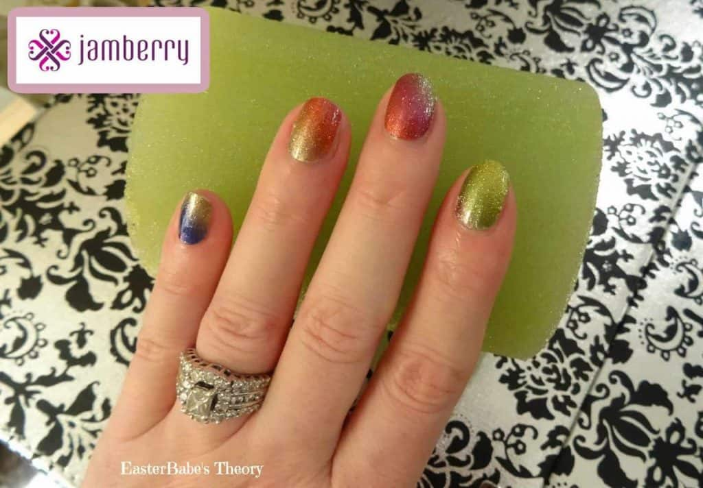 Jamberry Nails with Kimberly Spanton Review + Giveaway EasterBabe's Theory