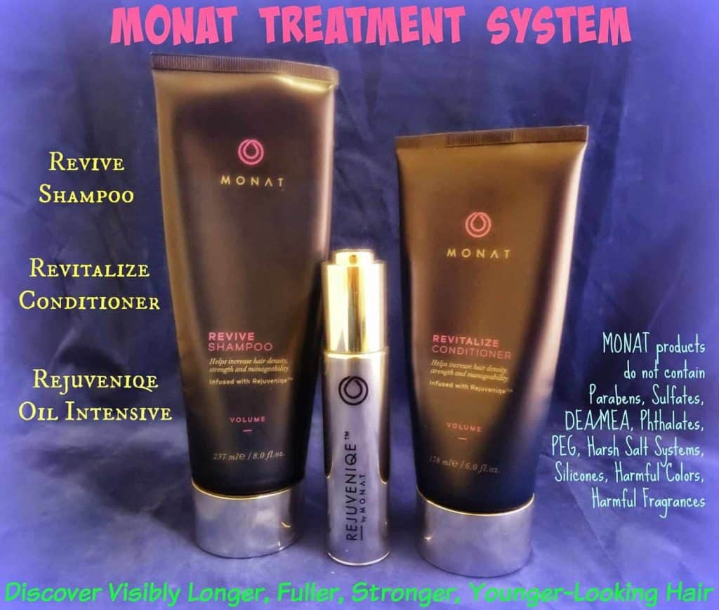 MONAT Hair Treatment System to Revive and Revitalize Thinning Hair Loss