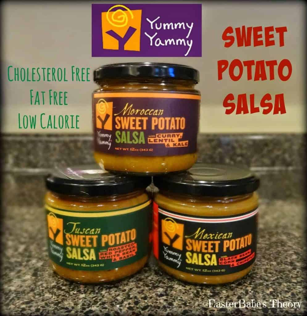 Yummy Yammy Moroccan Sweet Potato Salsa Review + Giveaway