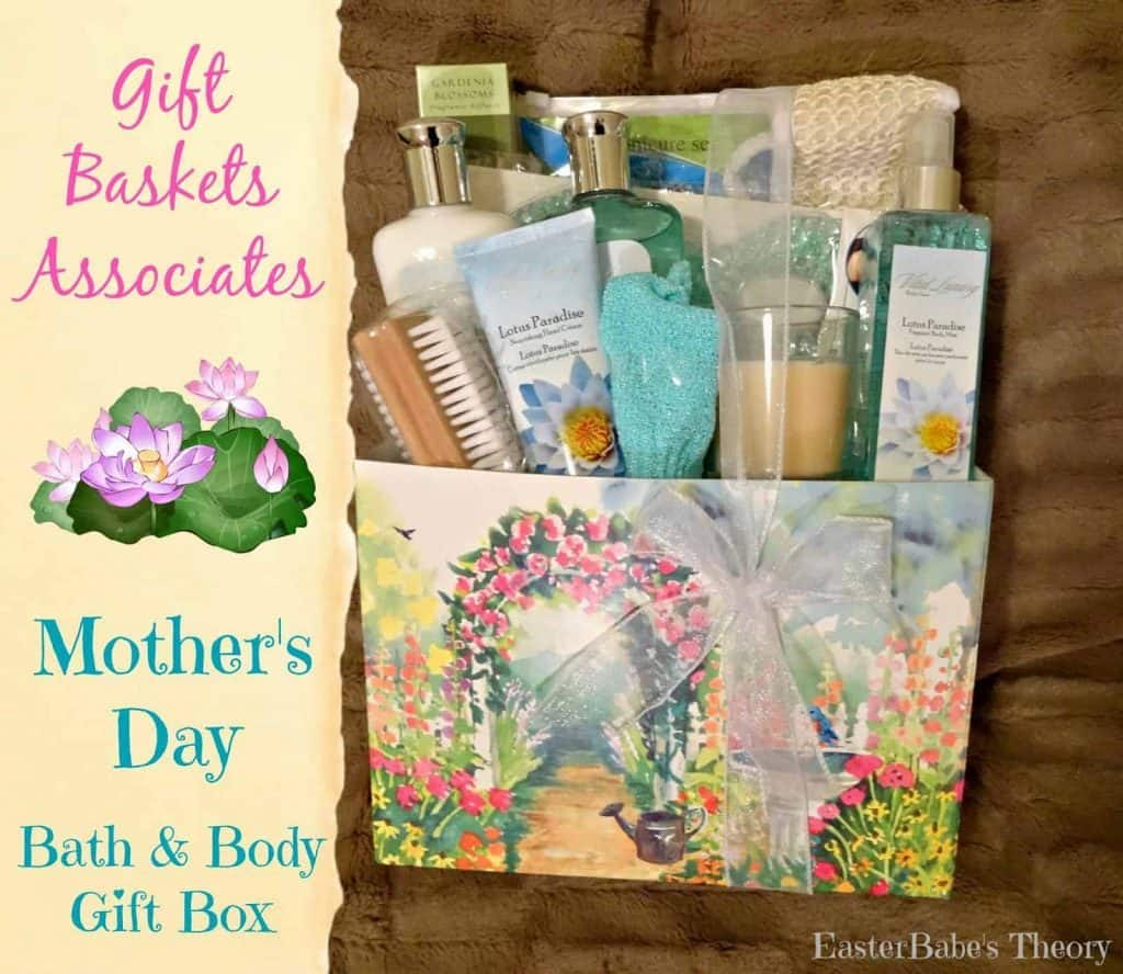 Lotus Botanicals Bath & Body Gift Box for Mother's Day from Gift Baskets & Associates