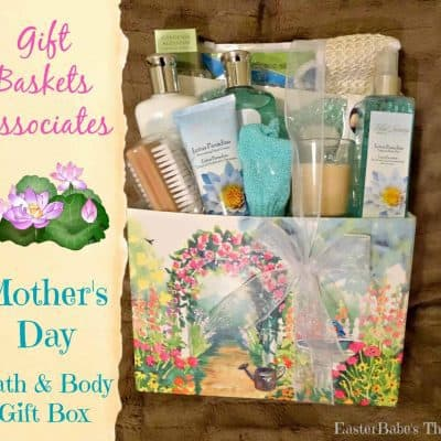 Mother's Day Bath & Body Gift Box from Gift Baskets Associates
