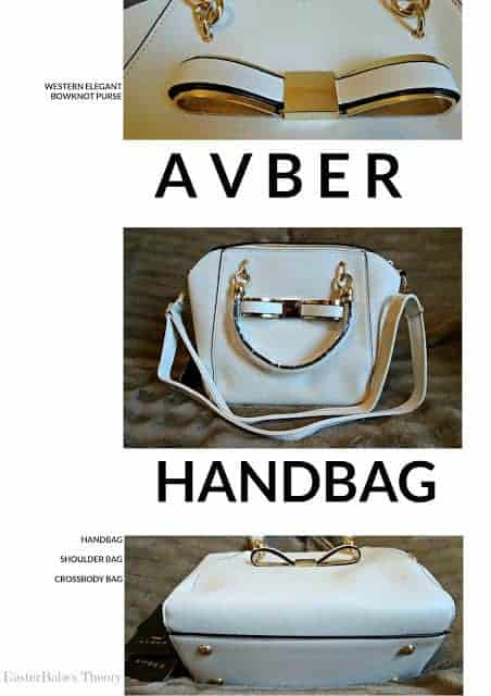 AVBER Western Elegant Bowknot Handbag, Shoulder Bag and Crossbody Bag Purse