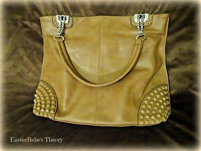 CLAUD Pyramid Stone Handbag from MKF Collection
