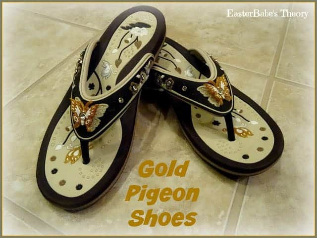 Gold Pigeon Shoes -  Sandals & Flip Flops for the Entire Family
