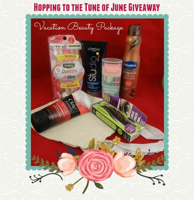 Hopping to the Tune of June Giveaway Hop