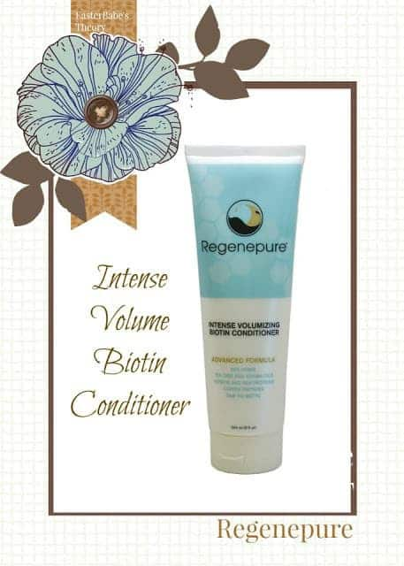 Regenepure Intense Volumizing Biotin Conditioner for Hair Loss and Hair Growth