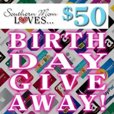 Win $50 in PayPal Cash or eGift Card of Choice in this Big Birthday Giveaway