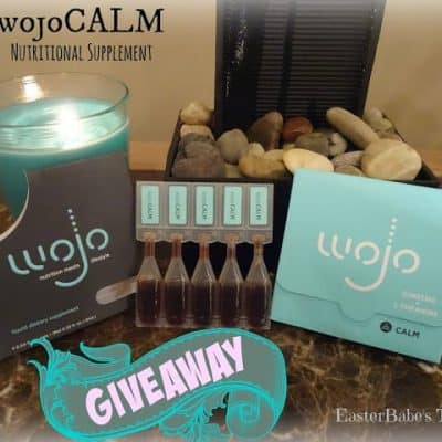 wojoCALM – Liquid Nutrition Supplement Review + Giveaway