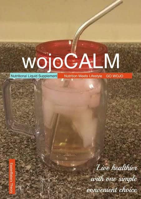 wojoCALM - Liquid Nutrition Supplement Giveaway wojo