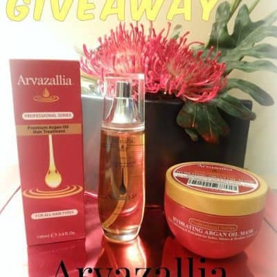 Christmas In July Giveaway Hop – WIN Arvazallia Professional Series Hair Treatment Set
