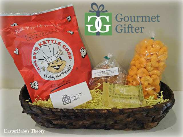 Yummy Snacks and Treats from Gourmet Gifter plus a Coupon Code for a Kettle Corn Trio for FREE Kettle Corn Cheese Puffs Meal Pineapple Replacement Bar Peanut Brittle