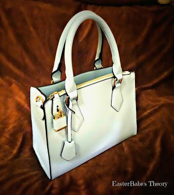 Hynes Eagle Signature Light Blue Tote Bag