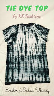 Tie Dye Boho Chic Trendy Top by KK Fashions