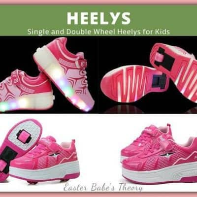 Fashionable Light-up Heely Skate Shoes for Kids