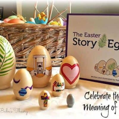 """Celebrate the True Meaning of Easter with """"The Easter Story Egg"""""""