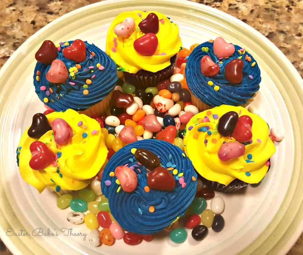Gimbals Fine Candies Jelly Bean Cupcakes Jelly Belly Cherry Lovers