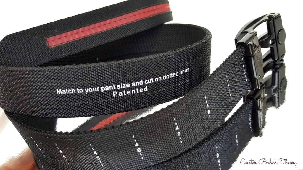 Nexbelt belt with no holes tactical gun nylon precisefit belt