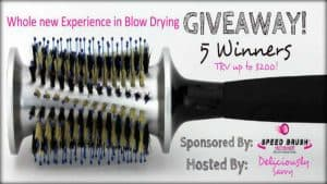 HotHeads Speed Brush Giveaway - 5 winners