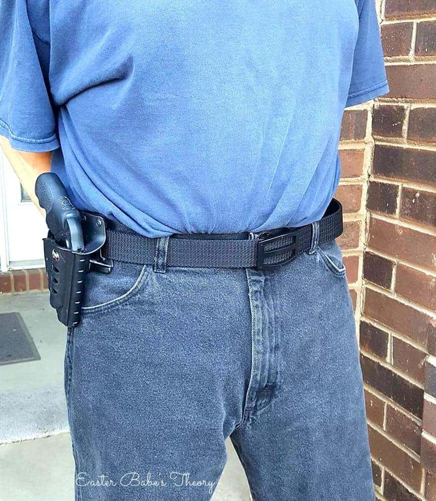 Nexbelt nylon gun tactical no holes belt precisefit made in the USA