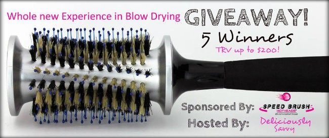Hot Heads Hair Brush Giveaway