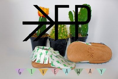 Win your choice of any pair of boys or girls moccasins from Freshly Picked