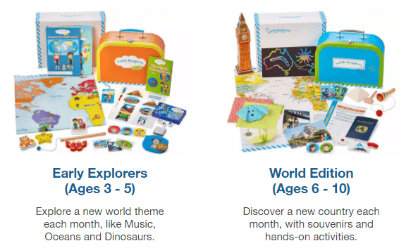 Little Passports Subscription Packages