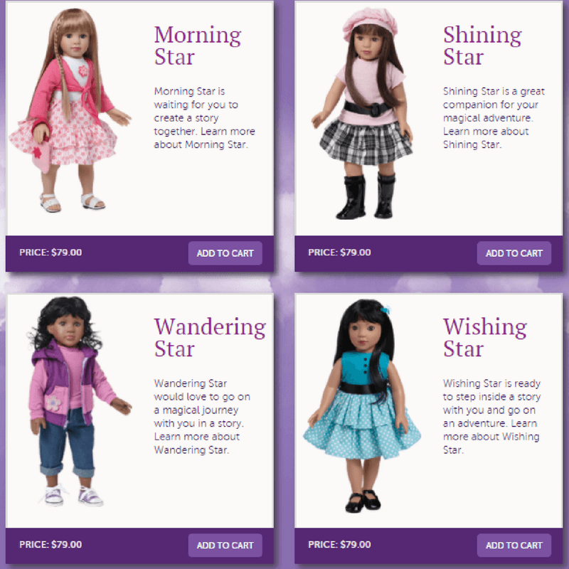 Enter to win an 18.5 inch Starpath Doll