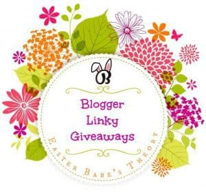 Easter Babe's Theory Blogger Linky Giveaways