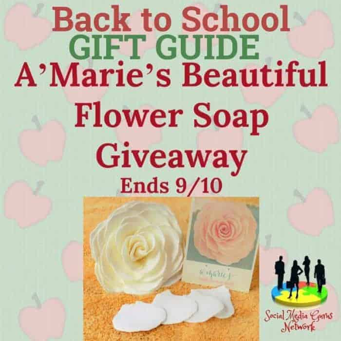 A'Marie's Beautiful Flower Soap Giveaway
