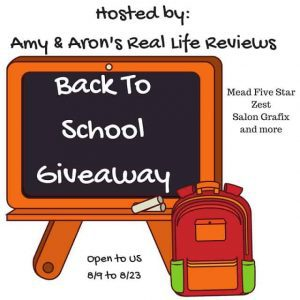 Blogger Opp Back To School Giveaway