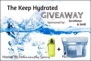 Blogger Opp: The Keep Hydrated Giveaway
