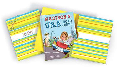 I See Me Personalized USA Road Trip Book