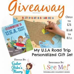 My USA Road Trip Personalized Gift Set