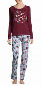 JCPenney Sleep Chic 2-pc. Pant Pajama Set