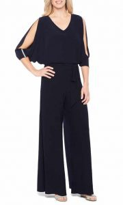JCPenney Msk 3/4 Sleeve Jumpsuit