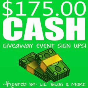 Blogger Opp - Cash Giveaway Event