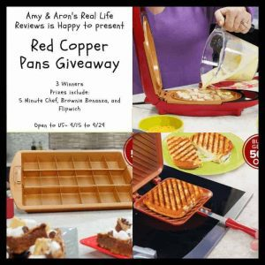 Blogger Opp Red Copper Pans Giveaway