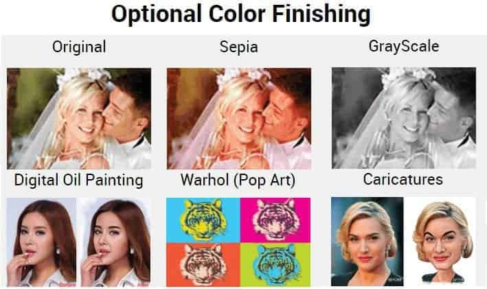 CanvasChamp Personalized Canvas Prints Optional Color Finishing Warhol Pop Art Photo