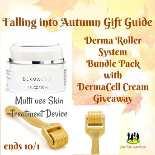 Enter the Derma Roller System Bundle Pack with DermaCell Cream Giveaway . Ends 10/1