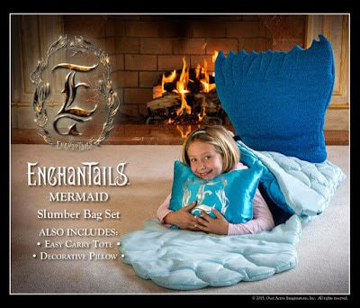 Enchantails Mermaid Slumber Bag and Books Giveaway - 2-Winners!