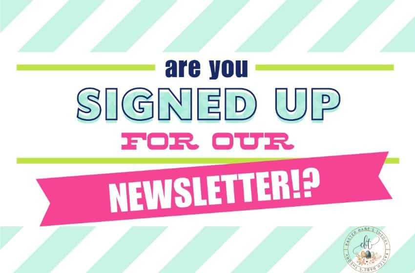 Easter Babe's Theory newsletter signup