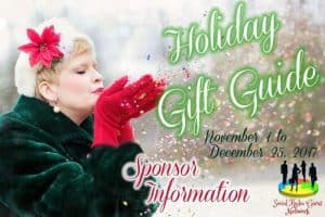 Holiday Gift Guide Sponsor Information